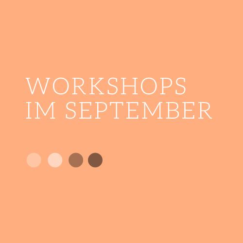 Workshop-Termine im September